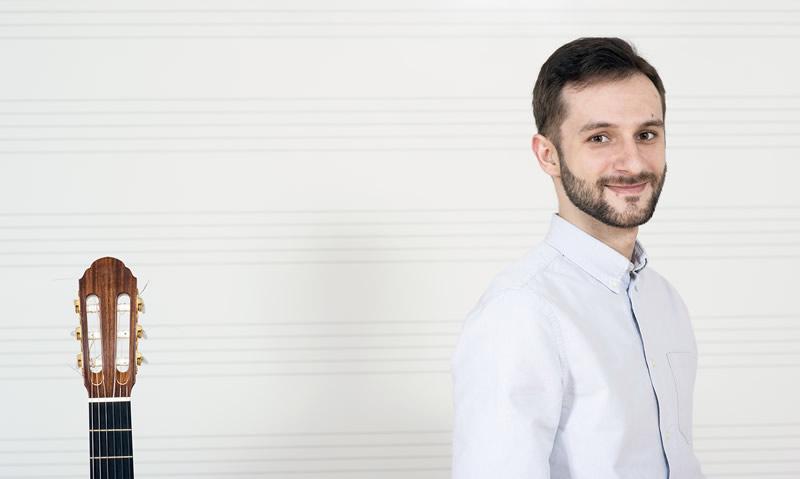 Krešimir Grloci, prof., gitara