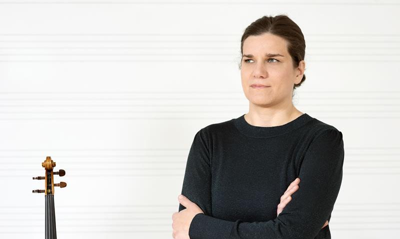 Tina Krznarić Novak, prof., violina