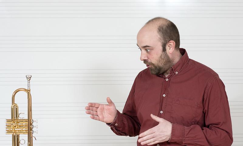 Vladimir Novak, prof., truba